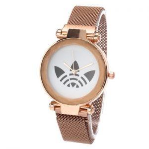 New Women Fashion Watches Luxury Brand AD Women Watch Magnet Wteel Mesh Wtrap Ladies Watch Girl Gift Reloj Mujer Hodinky discountshub