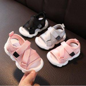 New summer kids sandals brand open toe toddler boys sandals orthopedic sport mesh baby boys sandals shoes discountshub