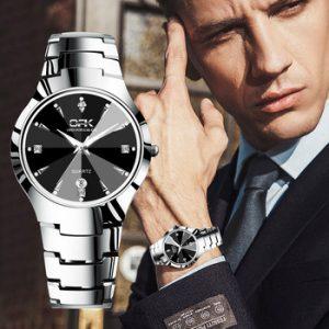 OPK Casual Sport Watches for Men Top Brand Luxury watch men Simple and stylish waterproof Men's Watch Business calendar Watch discountshub