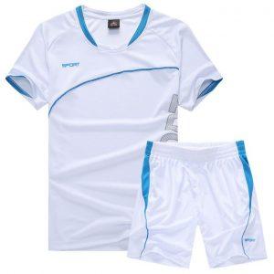 Men Women Running Short Sleeve T-shirt Shorts Jersey Set discountshub