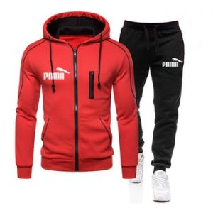 Tracksuit Men Two Pieces Set Mens Sportswear Male Jacket Hoodie And Pants Sweatsuit Clothes Ropa Hombre 2020 New Plus Size S-3XL discountshub