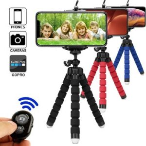 Tripod for phone tripod monopod selfie remote stick for smartphone iphone tripode for mobile phone holder bluetooth tripods discountshub