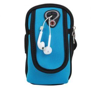 Unisex Running Sports Arm Pouch + Ear Phone discountshub