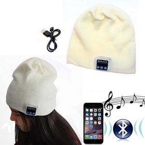 Useful Beanie Hat Wireless Bluetooth Smart Cap Headset Headphone Speak Mic discountshub