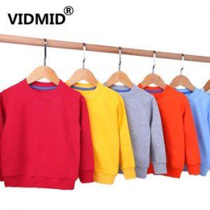VIDMID Children Coats t-shirts Baby Girls Long Sleeve Coat jacket boys Outerwear Cartoon long sleeve t-shirts clothing 4150 33 discountshub