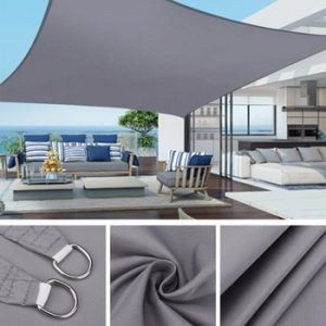 Waterproof Sun Shelter Sunshade Protection Shade Sail Awning Camping Shade Cloth Large For Outdoor Canopy Garden Patio discountshub