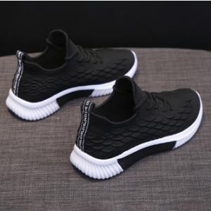 Women Comfortable Mesh Athletic Trainers Breathable Walking Shoes discountshub
