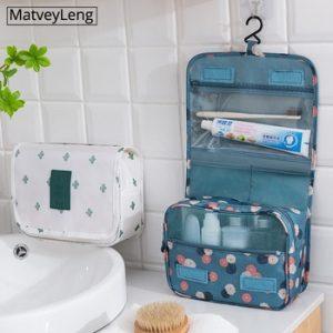 high quality Women Makeup Bags travel cosmetic bag Toiletries Organizer Waterproof Storage Neceser Hanging Bathroom Wash Bag discountshub