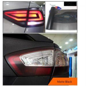 30*180cm Matt Smoke Light Film Car Matte Black Tint Headlight Taillight Fog Light Vinyl Film Rear Lamp Tinting Film discountshub