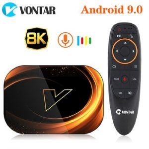 2020 VONTAR X3 4GB 128GB 8K TV BOX Android 9 Smart Android TV BOX 9.0 Amlogic S905X3 Wifi 1080P 4K Set Top Box 4GB 64GB 32GB discountshub
