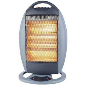 1200w Halogen Heater- Grey discountshub