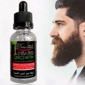 Beard Oil For Instant Facial & Bald Head Hair Growth Serum - 40ml discountshub