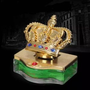 Crown Shaped Air Freshener For Cars, Homes & Offices - 65ml discountshub