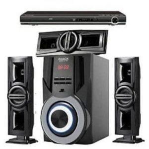 Djack Bluetooth Home Theater Sound System- Dj 1003 + Dvd Player discountshub