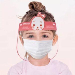 Face Shields For Kids - Pinky Rabbit discountshub