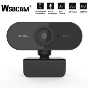 HD 1080P Webcam Mini Computer PC WebCamera with Microphone Rotatable Cameras for Live Broadcast Video Calling Conference Work discountshub