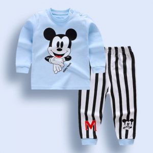 Infant Baby Boys Girls Clothes Sets Outfits Cotton Animal Sports Suit For Newborn Baby discountshub