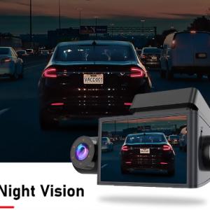 JADO Auto Dash Camera HD1080P Car Dvr Dash Camera 3 Cameras Night Vision Dvr Dash Cam 24H Parking Monitor Vehicle Video Recorder discountshub