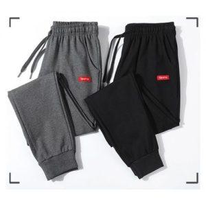 Jones Wears PACK OF TWO (2) SPORT JOGGERS PANT (BLACK, GREY) discountshub