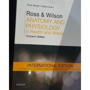 Jumia Books Ross And Wilson Anatomy And Physiology In Health And Illness 13th Edition discountshub