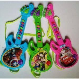 Kids Toy Guitar - Set Of 3 discountshub
