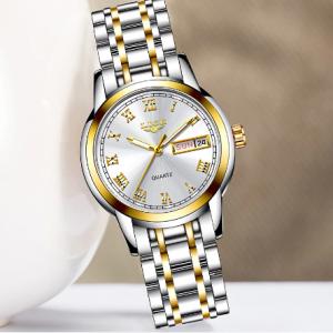 LIGE 2020 New Gold Watch Women Watches Ladies Creative Steel Women's Bracelet Watches Female Waterproof Clock Relogio Feminino discountshub
