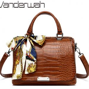 Luxury Alligator Handbags Women Bags Designer Ladies Top-handle Bag Crocodile Shoulder Crossbody Bags For Women Hand Bag Bolsas discountshub