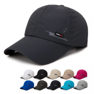 Men's Summer Breathable Adjustable Mesh Hat Quick Dry Cap Outdoor Sports Climbing Baseball Cap discountshub
