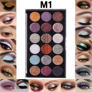 Miss Rose 18 Colors Eyeshadow Palette Beauty Makeup Matte Cosmetic 1# discountshub