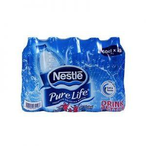 Nestle Pure Life Table Water 60cl Regular X 20 discountshub