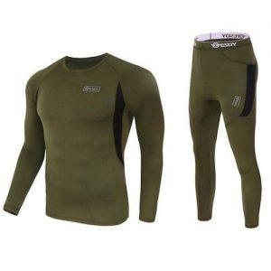 Outdoor Sports Thermal Underwear - Green discountshub