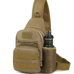 Outdoor Waterproof Nylon Tactical Crossbody Bag Lightweight Sport Chest Bag For Men discountshub