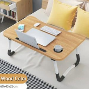 Portable Foldable Laptop Lap Desk Large Lazy Tray Computer Bed Sofa Table Stand discountshub