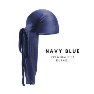 Priddi Blank Navy Blue Durag discountshub