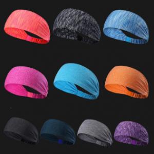 Sports Yoga Hairbands Antiperspirant scarves Quick-drying Sweatbands Running Fitness Headband discountshub