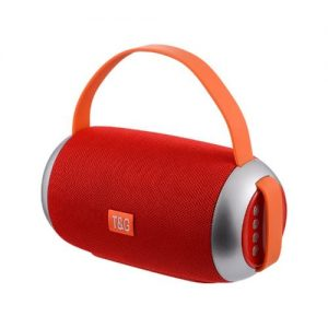 Tg112 Portable Bluetooth Speaker, With Mic & Fm Radio Function, Support Tf Card -red discountshub