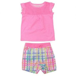 Jumping Beans Top and Matching Shorts - Pink discountshub