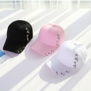 Unisex Casual Solid Adjustable Iron Ring Baseball Caps Snapback Cap Casquette Hats Fitted Casual Hat discountshub