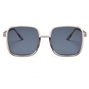 Unisex Square Lens Sunglasses - Grey discountshub
