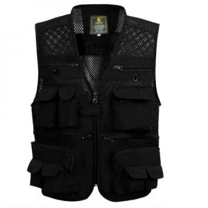 Unloading Men's Vest Tactical Coat Fashion Summer Photographer Waistcoat Mesh Work Sleeveless Jacket Tool Many Pocket Vest Male discountshub