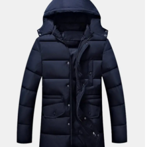 Winter Thicken Warm Detachable Hood Multi Pockets Mid Long Padded Jackets for Men discountshub