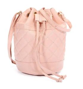Women Candy Color Ling Bucket Crossdody Bag discountshub