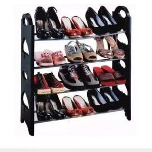 12 Pairs Stackable Shoe Rack discountshub