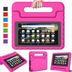 "Amazon Fire -7"" -1gb Ram - 16gb Rom - Storage Educational Teen Tablet With Alexa+ Pink Proof discountshub"