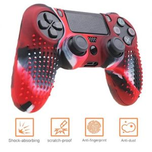 Anti-slip Silicone Cover Skin Case For PS4 Pad Controller discountshub
