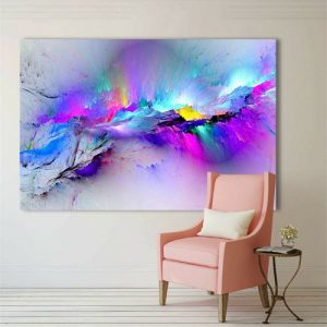 Canvas Art Paintings Canvas Prints Of Abstract Colorful Wall Decor Bedroom discountshub