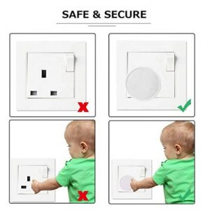 Home Safety Plug Socket Cover - Baby & Child Proof Protector Guard- Pack Of 24 discountshub