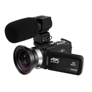 KOMERY New Release Video Camcorder 4K WiFi 48MP Built-in Fill Light Touch Screen Vlogging For Youbute Video Digital Camera discountshub