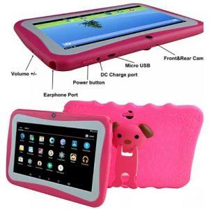 "7"" Kid Educational Android Tablet discountshub"