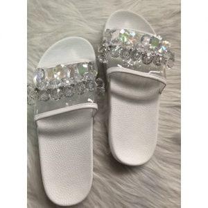 Ladies' Beaded Slippers discountshub